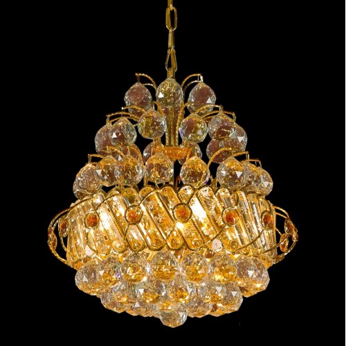 Classical Crystal Gold Chandelier