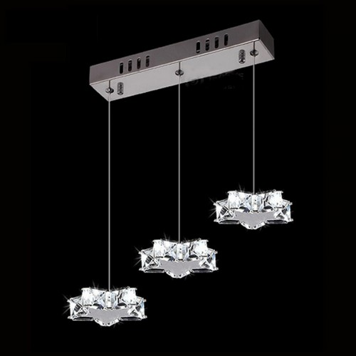 Shiny Stars Row Pendant Light with In-built LED