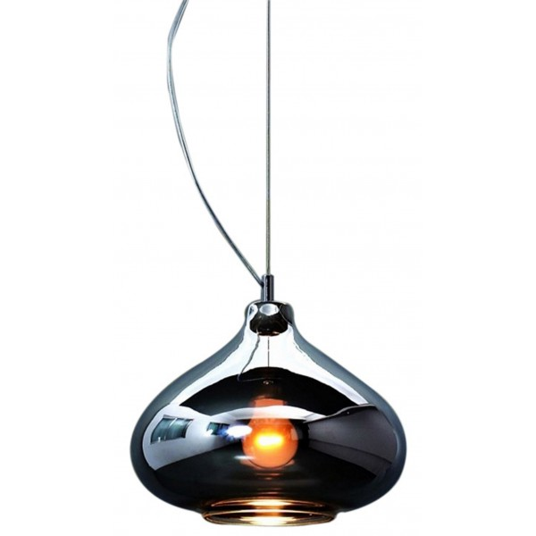 chandelier glass wanelo globe black on shop blown pendant clear light