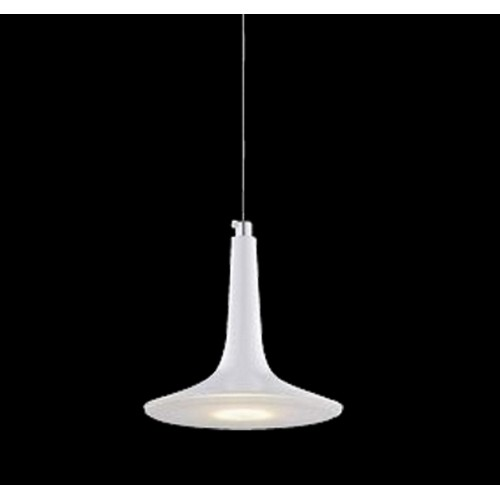 Steel Shade Mini Pendant Light with In-built LED