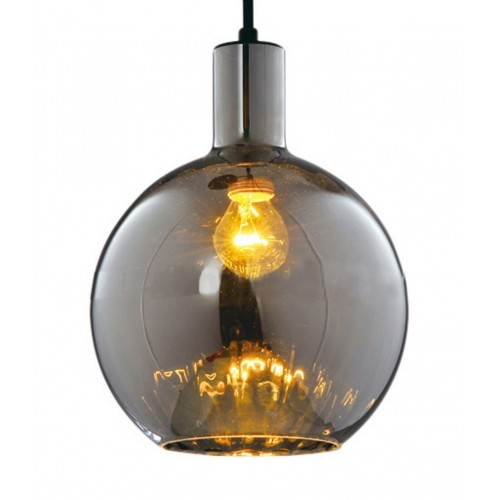 Oversized Glass Dome Large Pendant Light with LED Bulb