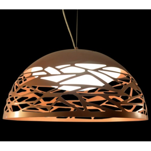 Geometric Pattern Large Pendant Light with In-built LED