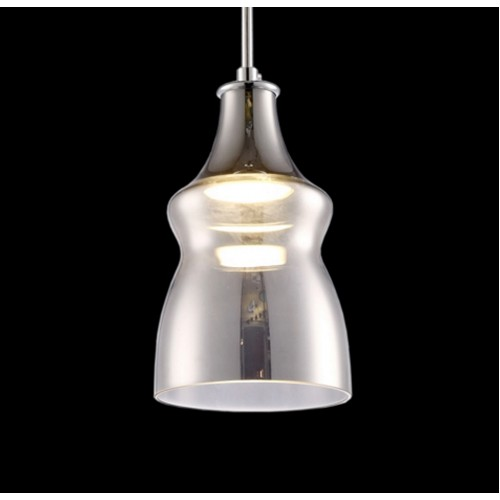 Attractive Structure Mini Glass Pendant Light with LED Bulb