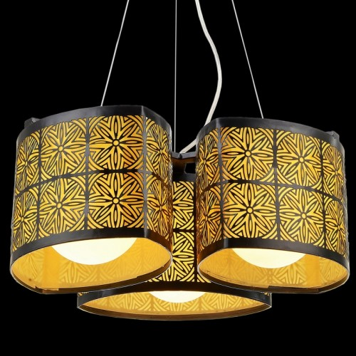 Retro Starburst Cluster Pendant Light