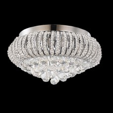Close to ceiling lights fixtures online crystal lights crystal and bead filled close to ceiling light aloadofball Image collections
