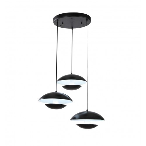 Canopy Mushroom Cluster Pendant Light with In-built LED