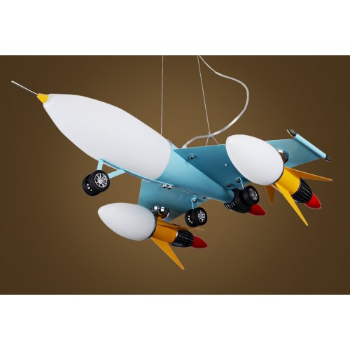 Aircraft Kids Pendant Light / Children's Ceiling Light