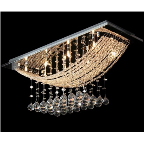 Wave of Light Chandelier Ceiling Light