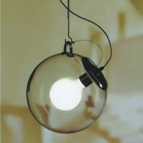 Funky Globe In A Glass Sphere Large Pendant Light