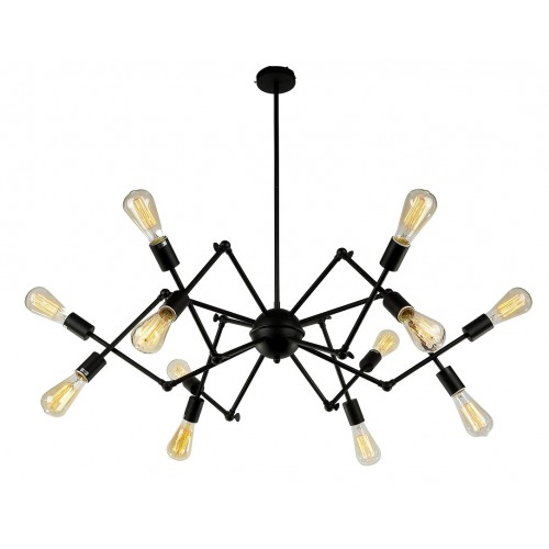 Sputnik Cluster Light with LED Filament Bulbs
