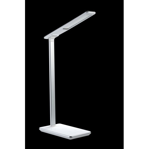 Modern Desk Lamp with In-built LED, Colour Temperature Control, USB and NFC Mobile Charging