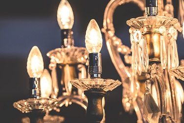 Choose the Perfect Crystal Chandelier for your Living Areas